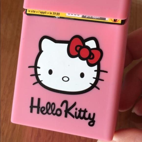 ecb4a62a0 Hello Kitty Accessories   Silicone Cigarette Pack Holder Nwt   Poshmark
